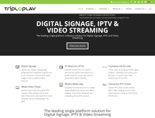 tripleplay-services.com screenshot