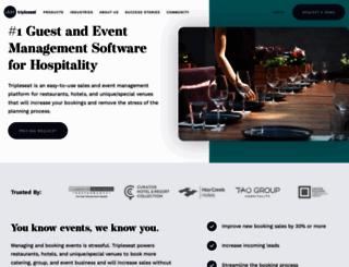 tripleseat.com screenshot