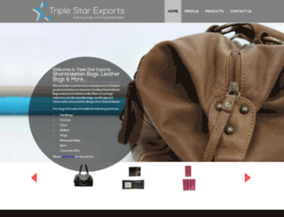 triplestarexports.com screenshot