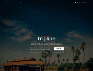 tripline.net screenshot