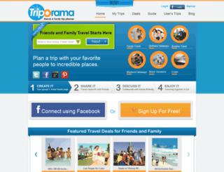 triporama.com screenshot
