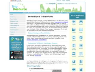 tripresource.com screenshot