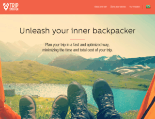 tripsniffer.com.br screenshot