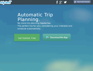 triptern.com screenshot