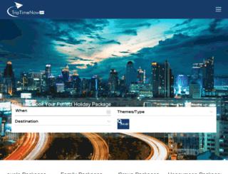 triptimenow.com screenshot