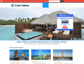 triptomake.com screenshot