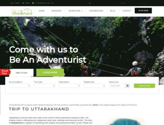 triptouttarakhand.com screenshot