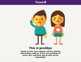 tripwell.com screenshot