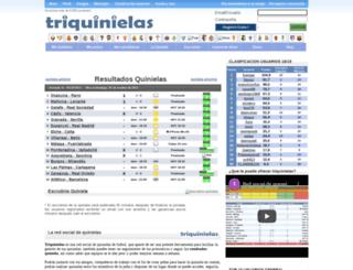 triquinielas.com screenshot