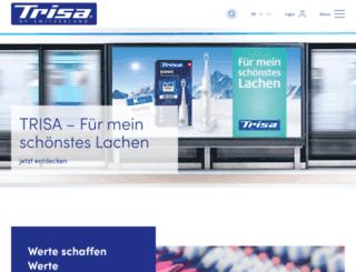 trisa.com screenshot