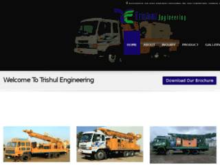 trishulengineering.com screenshot