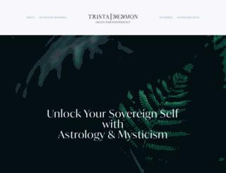 tristadedmon.com screenshot
