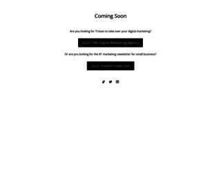 tristanjud.com screenshot