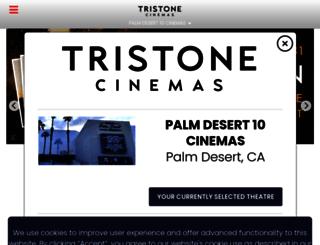 tristonecinemas.com screenshot