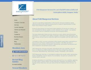 tritimanpower.webs.com screenshot