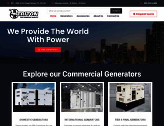 tritonpower.com screenshot