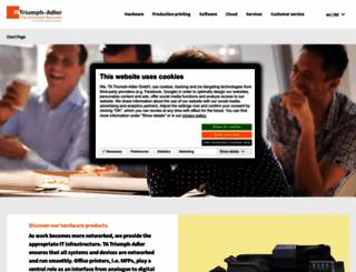 triumph-adler.com screenshot