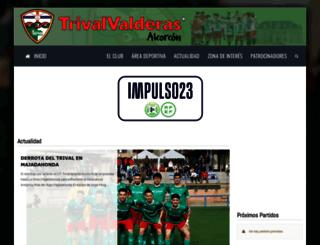 trivalvalderas.com screenshot