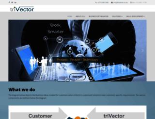 trivector.co.za screenshot