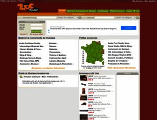 trocmusic.com screenshot