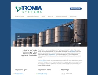 tronia.com screenshot