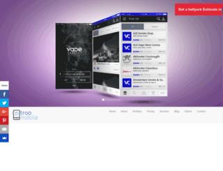troomobile.com screenshot