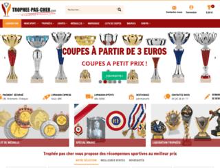 trophee-pas-cher.com screenshot