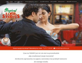 tropical-dance.pl screenshot