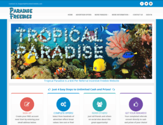 tropical.paradisefreebies.com screenshot