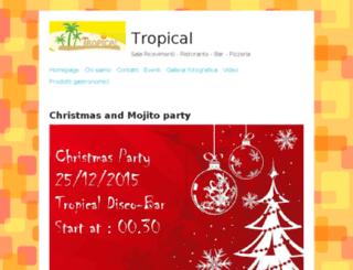 tropicalfood.altervista.org screenshot