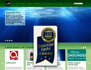 tropicalworldfood.com screenshot