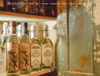 tropisueno.com screenshot