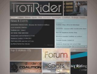 trotirider.com screenshot
