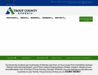 troupcountyga.org screenshot