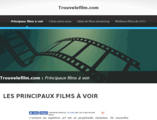 trouvelefilm.com screenshot