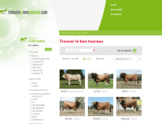trouverlebontaureau.com screenshot