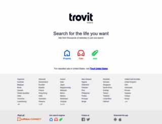 trovit.ie screenshot