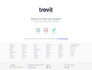 trovitmexico.com.mx screenshot