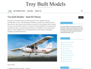 troybuiltmodels.com screenshot