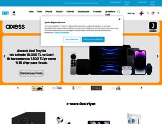 troyestore.com screenshot