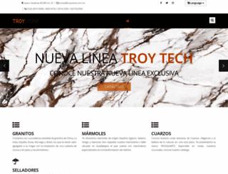 troystone.com.mx screenshot