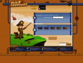 truatruacailin.minitroopers.com screenshot
