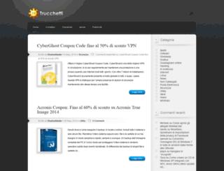 trucchetti.com screenshot