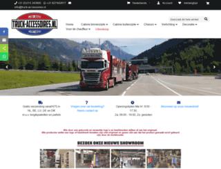 truck-accessoires.nl screenshot
