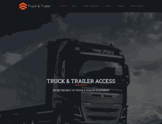 truckandtraileraccess.com screenshot