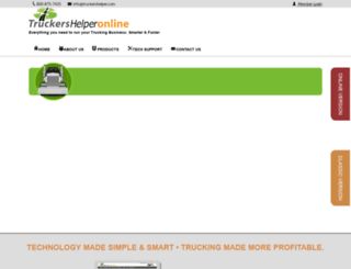 truckershelper.com screenshot