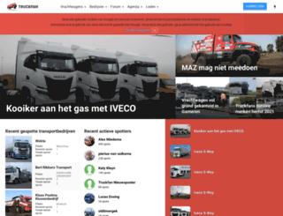 truckfan.nl screenshot