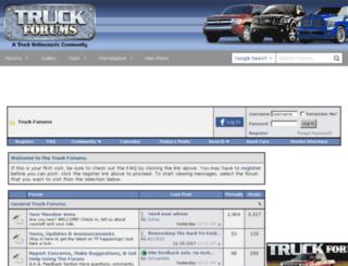 truckforums.com screenshot