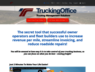 truckingoffice.com screenshot