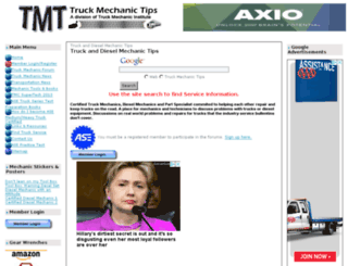 truckmechanictips.com screenshot